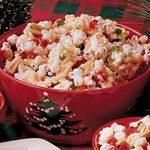Popcorn Almond Brittle