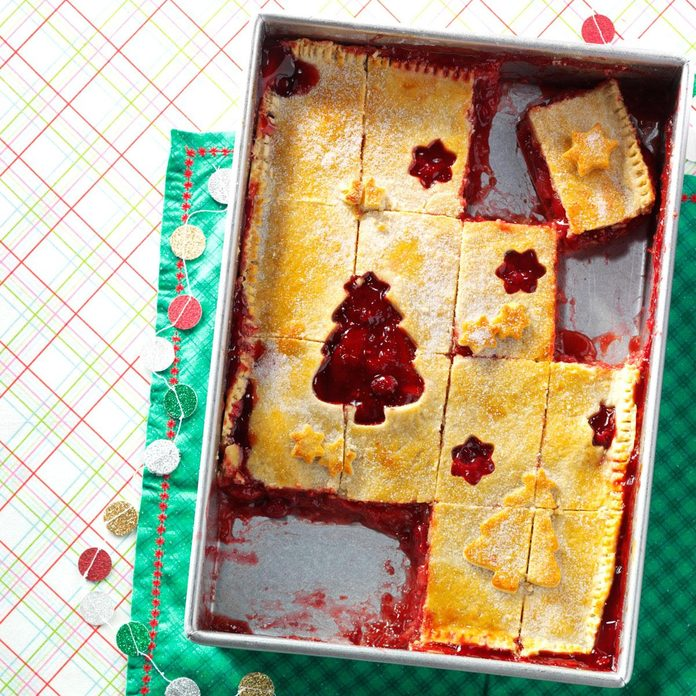 Apple Cranberry Cutout Pie