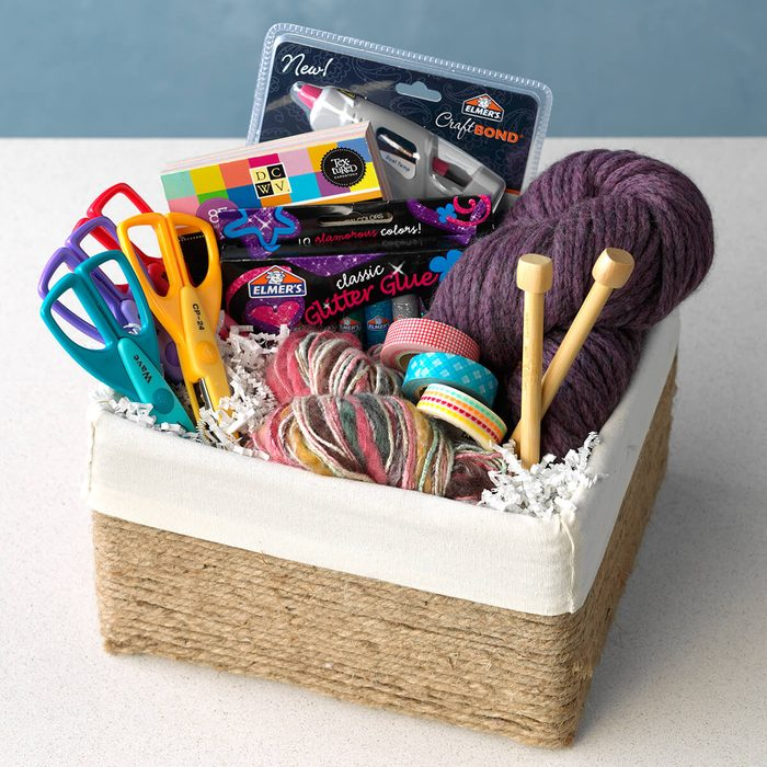 gift basket for the crafter