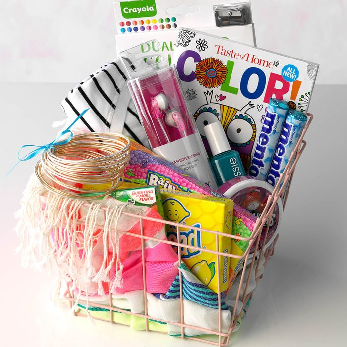 Teen gift basket idea