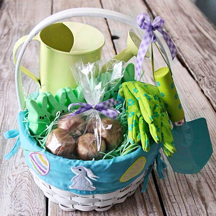 Easter bulb basket