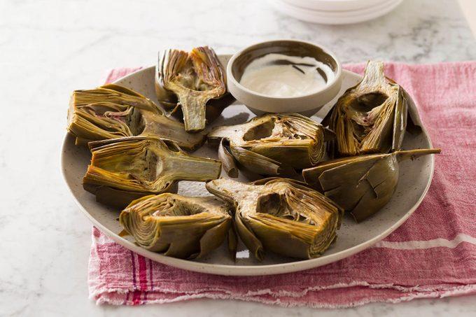 Roasted Artichokes; Artichokes; Artichoke