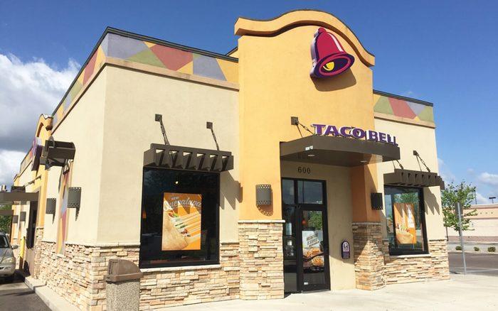 JACKSONVILLE, FL-APRIL 10, 2016: New Taco Bell restaurant