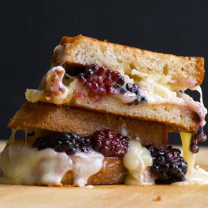 Blackberry Grilled Cheese Sandwich