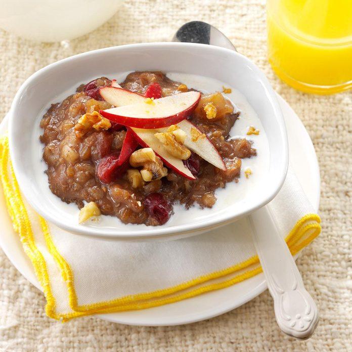 Instant Pot Apple-Cranberry Grains
