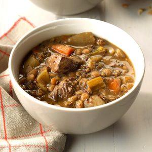 Ancient Grain Beef Stew