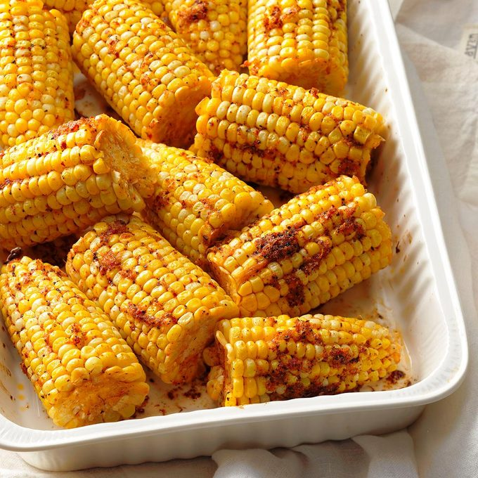 Baked Chili-Lime Corn