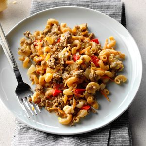 Country Bacon-Beef Mac and Cheese