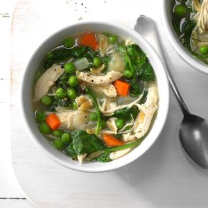 Dill Chicken Soup