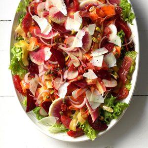Flamboyant Flamenco Summer Salad