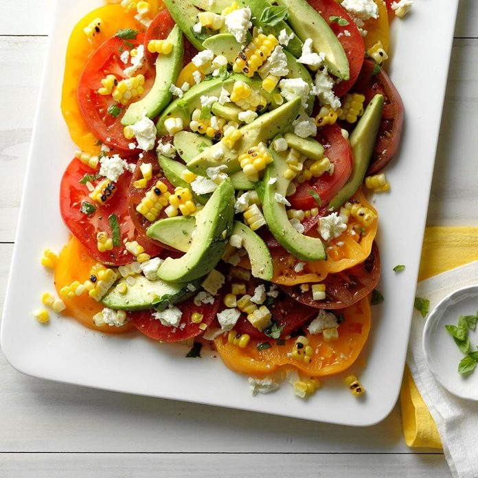 Tomato Avocado And Grilled Corn Salad Exps Thjj18 153635 C02 01 4b 3