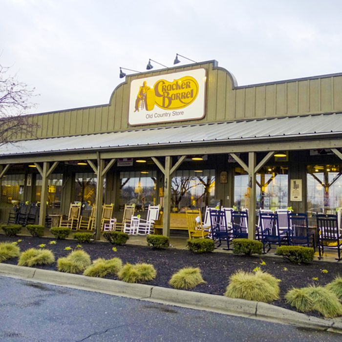 Cracker Barrel restauraunt