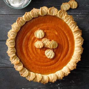 Autumn Harvest Pumpkin Pie