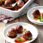 Barbecue and Beer Meatballs