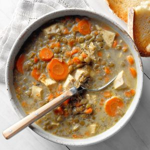 French Lentil and Carrot Soup