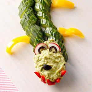 Guac Crocs & Veggies