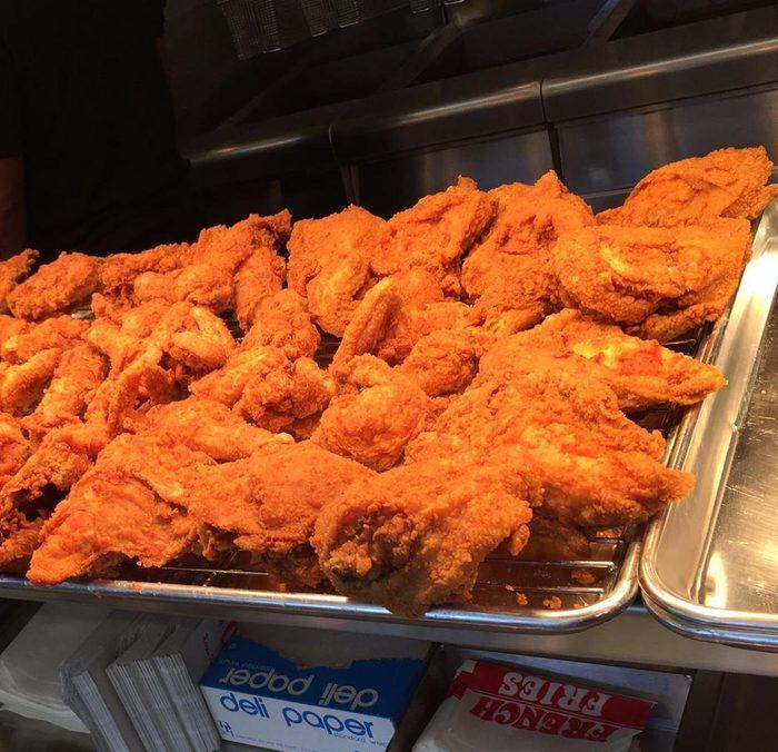 Chicken Supreme's fried chicken