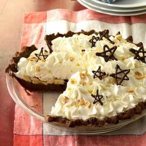 Nutella Banana Cream Pie