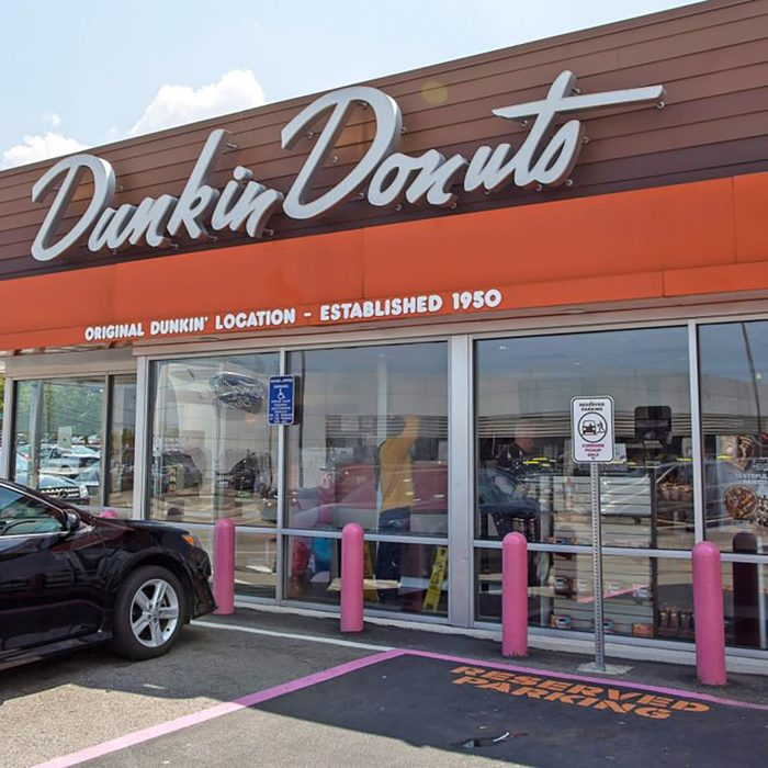 first dunkin donuts location