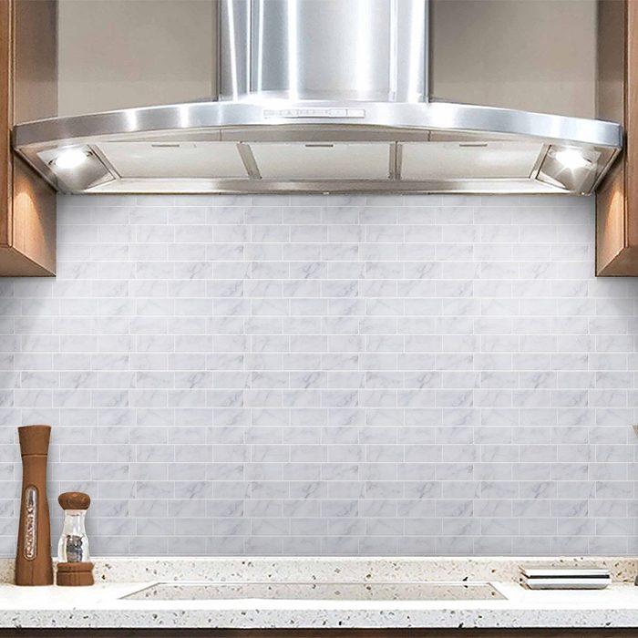 Vamos Tile Premium Anti Mold Peel and Stick Tile Backsplash
