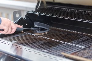 The Dangerous Reason You Should Never Use a Wire Brush to Clean Your Grill