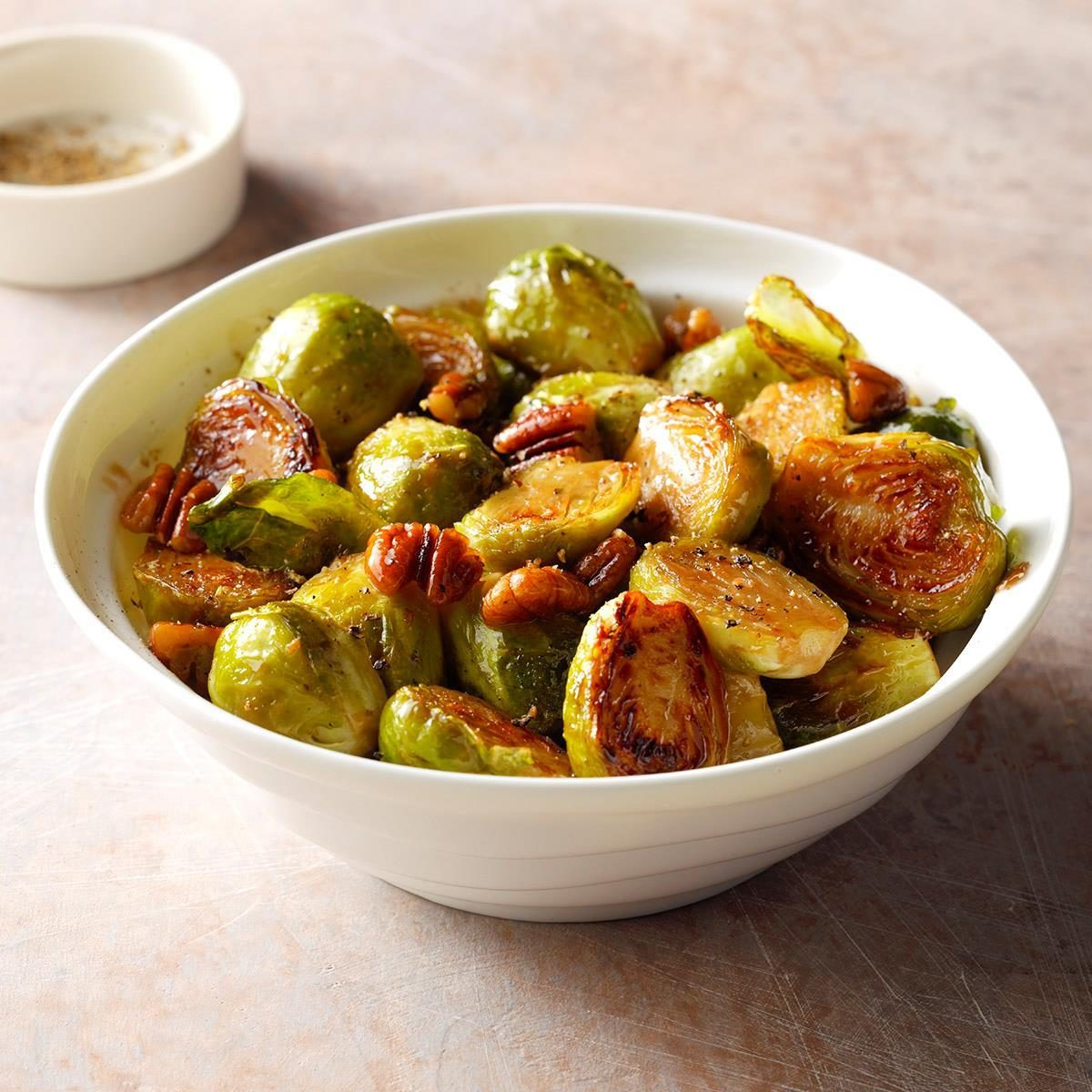 Brussels Sprouts + Honey