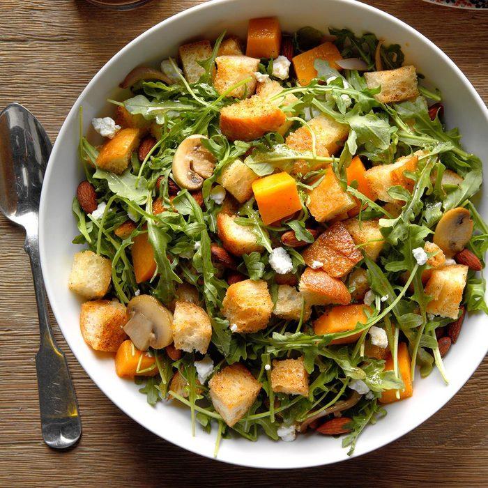 Monday: Butternut Squash Panzanella Salad