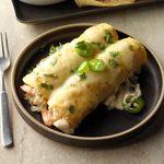 Cheesy Seafood Enchiladas