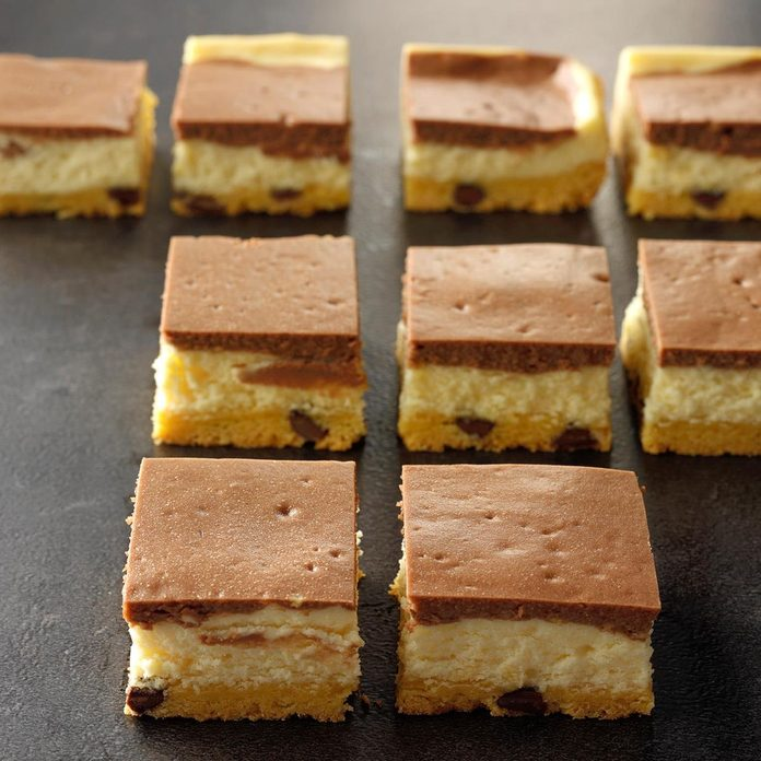Double-Layer Cheesecake Bars