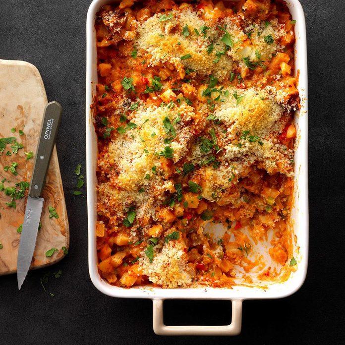 Potato and Chorizo Casserole