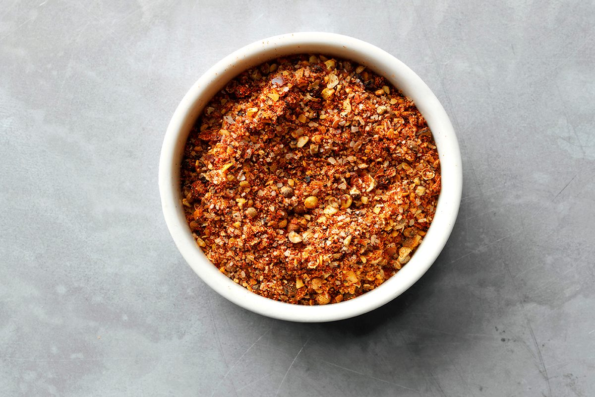 Best Ever Chili Recipe ingredients; Spice Mixture
