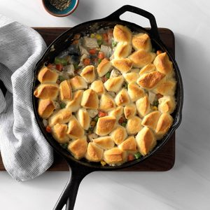 Turkey Biscuit Skillet
