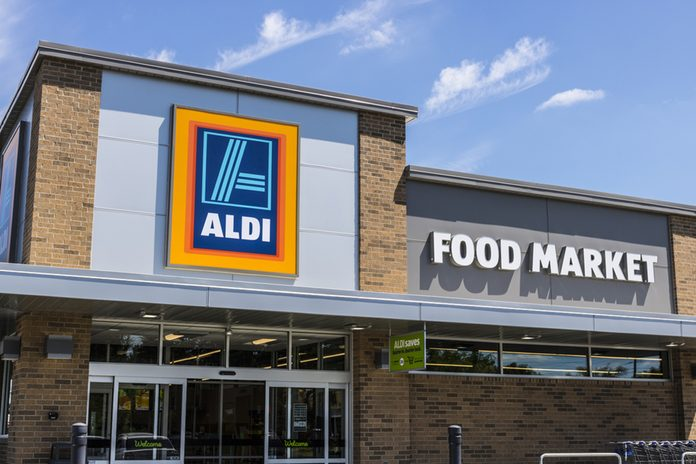 Aldi Discount Supermarket.