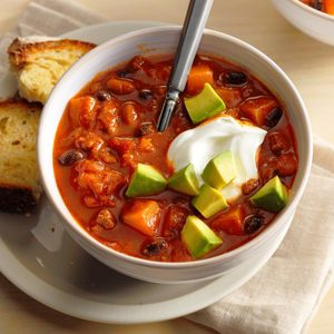 Spiced Butternut Squash Chili
