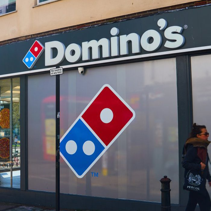 Exterior of Dominos