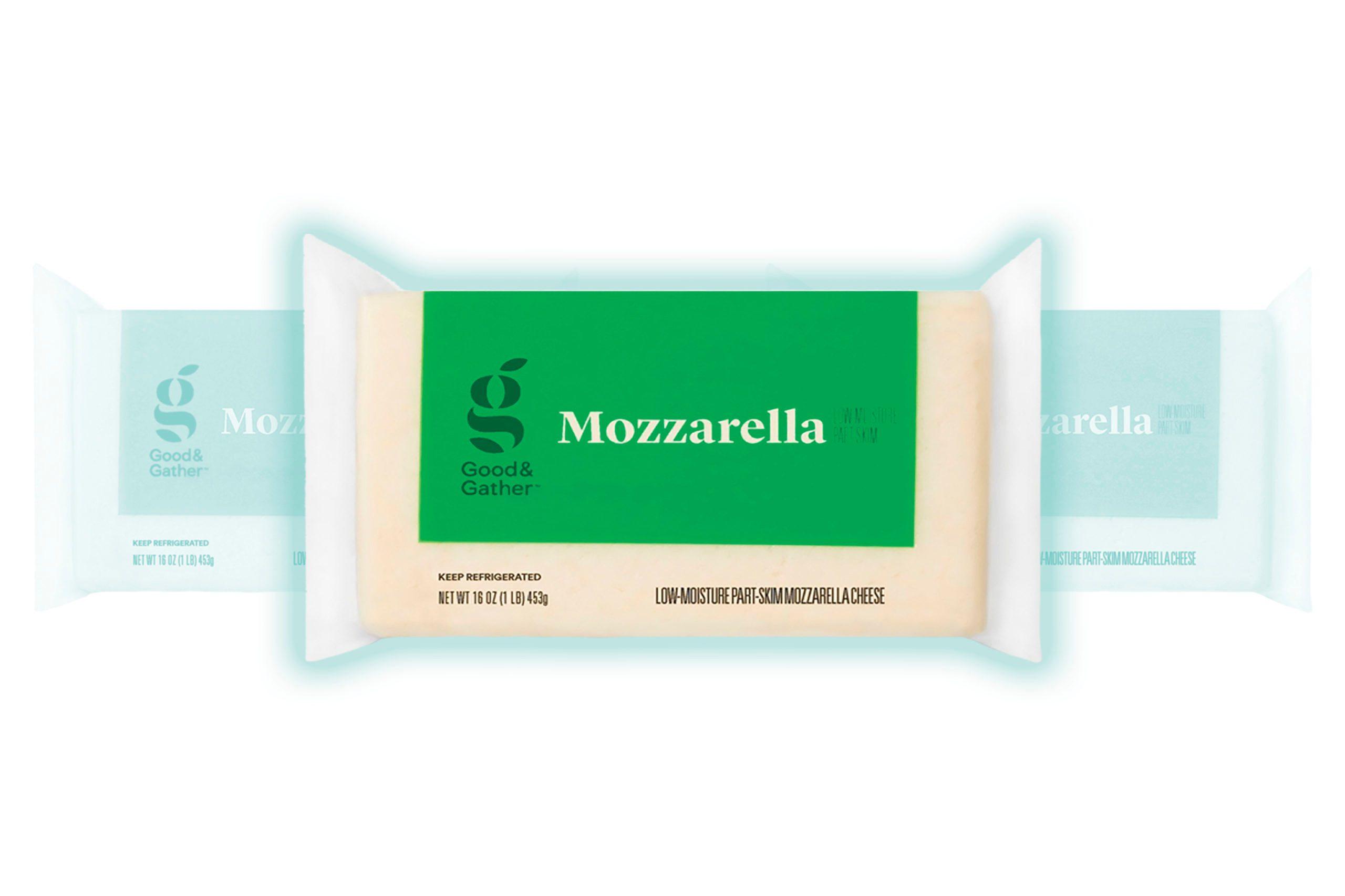 Chunk Mozzarella Cheese - 16oz - Good & Gather™