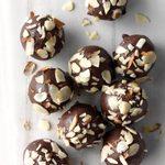 Chocolate Lebkuchen Cherry Balls