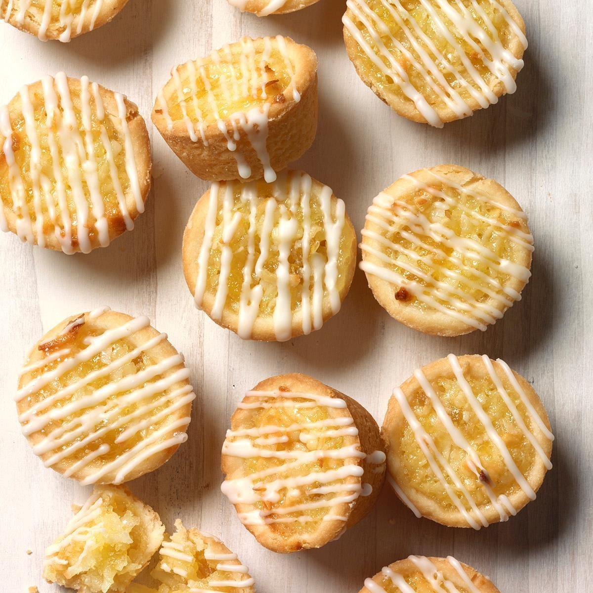 Pineapple Coconut Tassies
