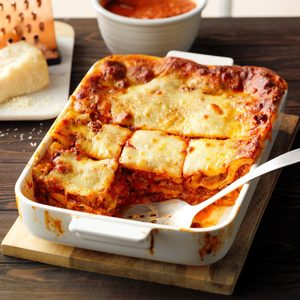 The Best Ever Lasagna