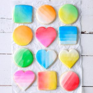 Graffiti Cutout Cookies