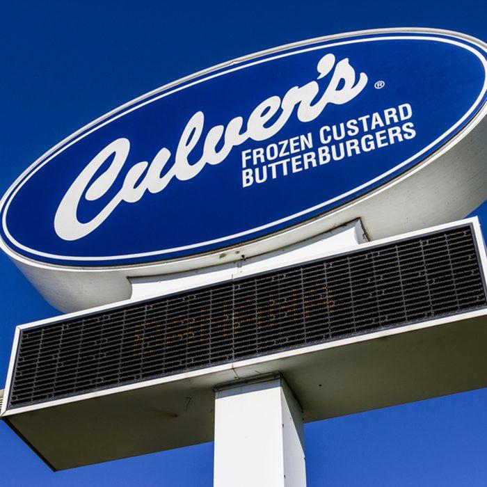 Culver's sign