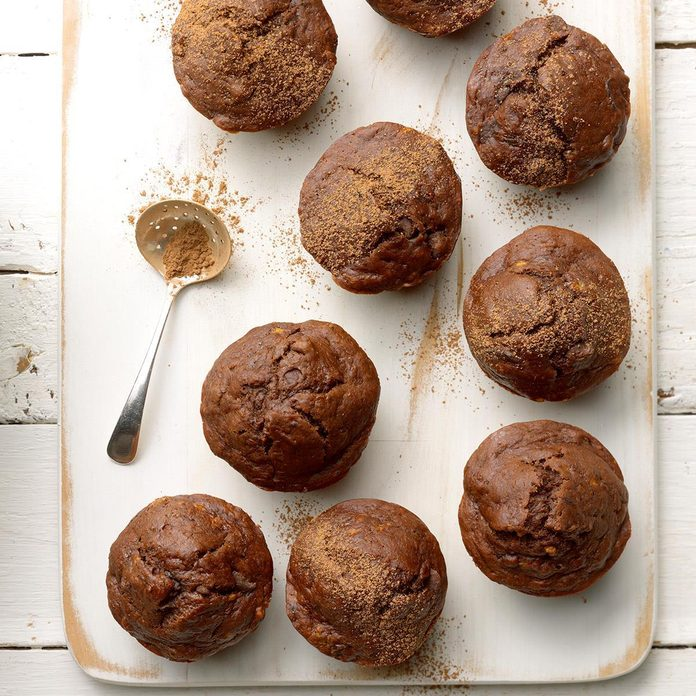 Egg Free Double Chocolate Banana Muffins  Exps Thfm19 206331 B10 02 10b 6