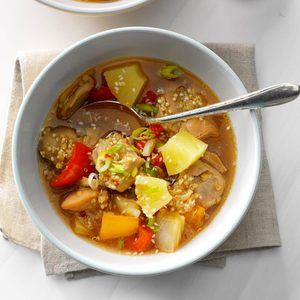 Ginger Chicken and Quinoa Stew