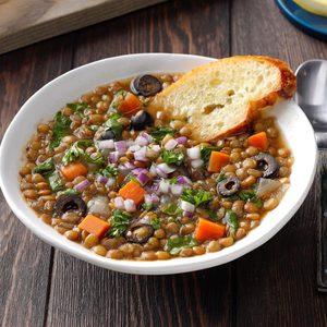 Greek-Style Lentil Soup