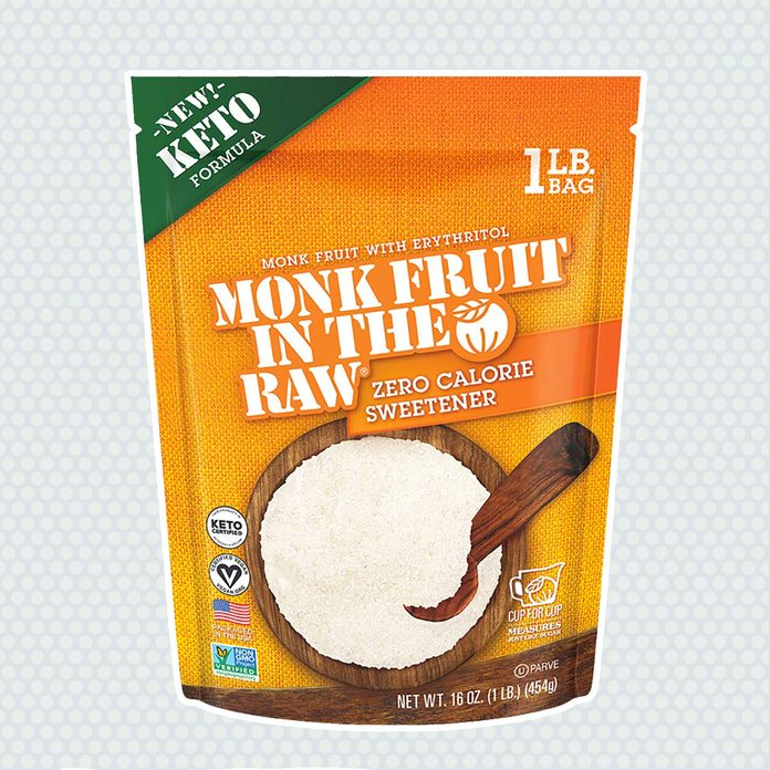sugar alternatives Monk Fruit Raw Keto Certified Erythritol