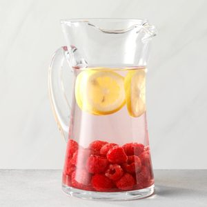 Raspberry and Lemon Infused Water