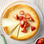Yogurt-Ricotta Cheesecake