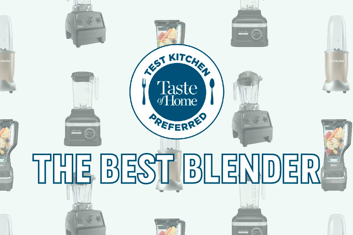 Test Kitchen Preferred The Best Blender Tkp