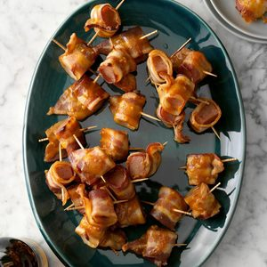 Bacon-Wrapped Spam Bites