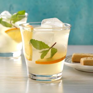 Orange Blossom Mint Refresher